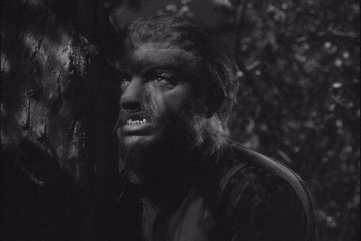 Frankenstein Meets The Wolfman Gif